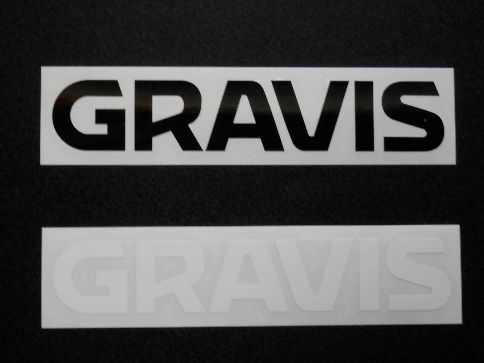 フットウェアーメーカーのダイカットタイプのステッカー お得なキャンペーンを実施中 Gravis Logo タイムセール グラビス Sticker ロゴステッカー