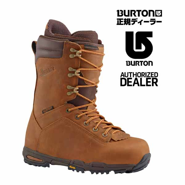2017年モデル Burton X Danner Distressed Brown 正規品につき1年間のメーカー保証付き