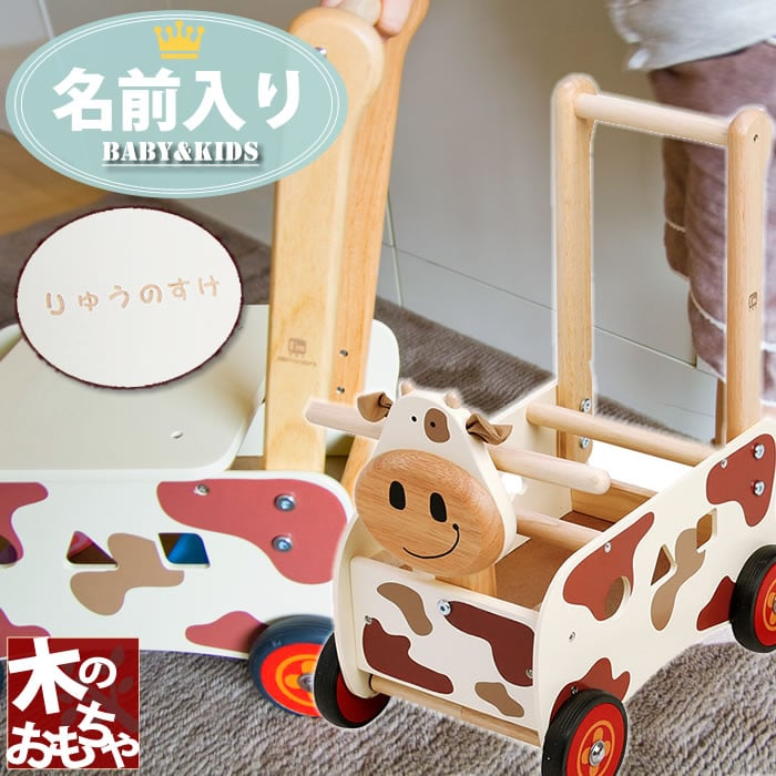 Birthday Present 1 Year Old Birth Celebration Hand Carts Rattle Toddler With The Names Of Children Walking Car Walker Ride Kau Name Boys Girls