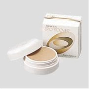 SHISEIDO SPOTS COVER FOUNDATION H100
