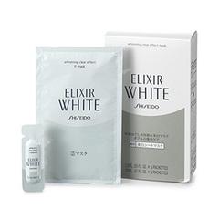 Shiseido ELIXIR WHITE CLEAR EFFECT mask set 6 pieces essence six 1.5 MLx 20 MLx mask 6