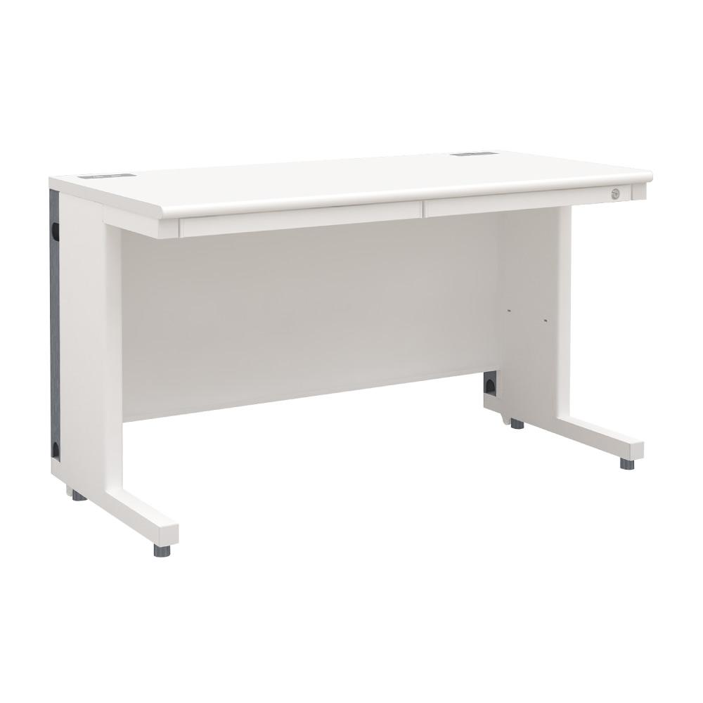 平机 オフィスデスク 多機能 整理収納(幅1200×奥行600・ホワイト)