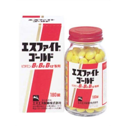 【第3類医薬品】エスファイトゴールド [180錠] ×6個セット