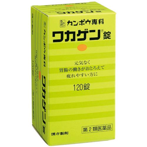 【第2類医薬品】 クラシエ ワカゲン錠 120錠 ×5個セット