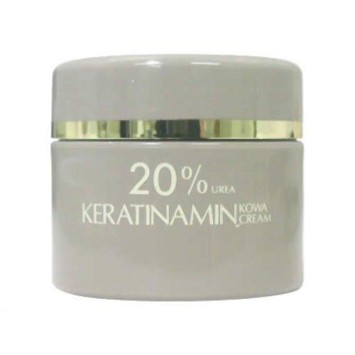 【第3類医薬品】ケラチナミンコーワ20%尿素配合クリーム [60g] ×10個セット