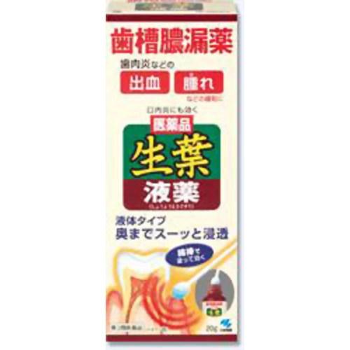 【第3類医薬品】生葉液薬 [20g] ×10個セット