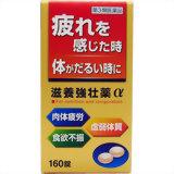 【第3類医薬品】滋養強壮薬α  160錠 ×10個セット