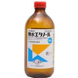【第3類医薬品】日本薬局方 無水エタノール500ml ×8個セット