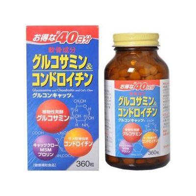 70%OFFアウトレット 京都薬品ヘルスケア グルコンキャッツ360粒 送料0円 4個セット