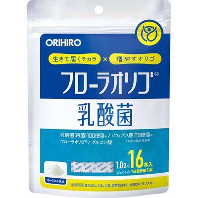 フローラオリゴ乳酸菌 16本 8個セット