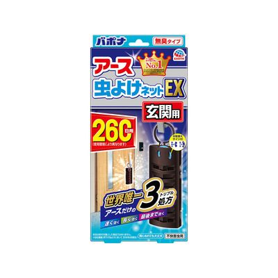 <title>アース製薬 アース 虫よけネットEX 情熱セール 玄関用 260日用 1コ入</title>