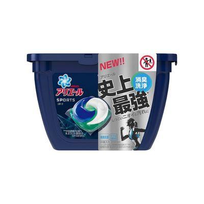 優先配送 P G アリエール 洗濯洗剤 本体 14コ入 オリジナル ジェルボール3D プラチナスポーツ