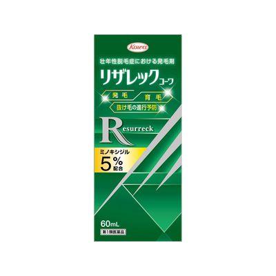 ≪興和≫ 第1類医薬品 リザレックコーワ60ml 6個セット 割引 ミノキシジル5%配合 リアップX5と同じ有効成分配合 高品質