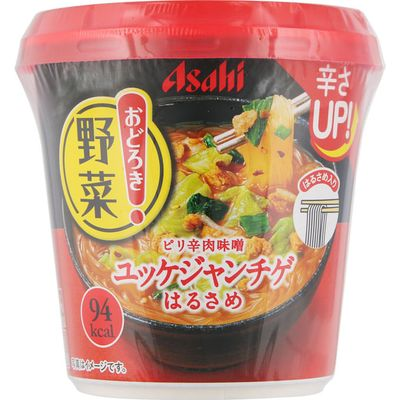 アサヒグループ食品 おどろき野菜 ユッケジャンチゲ 在庫限り 百貨店 48個セット 他商品同梱不可