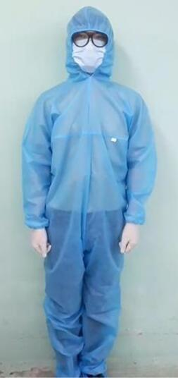 DANAMECO 不織布 防護服セット XLサイズ【セット内容:つなぎタイプの防護服(オールインワン)靴カバー サージカルマスク ゴム手袋 医療用ゴーグル】50個セット