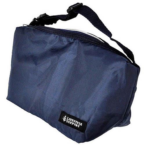 保冷弁当袋 2段用 シンプルBL 大幅値下げランキング おトク P-2966