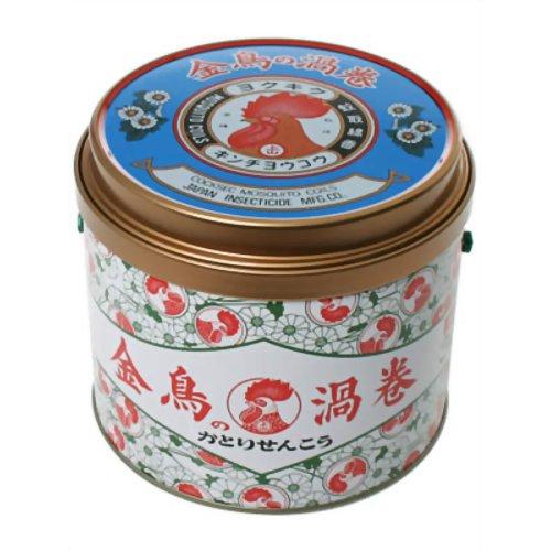金鳥 大日本除虫菊 タイムセール 金鳥の渦巻K 30巻 缶 推奨