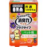 フレッシュパワー消臭力 プラグタイプ つけかえ用 開催中 ペット用 フルーティーガーデンの香り 20ml 交換無料