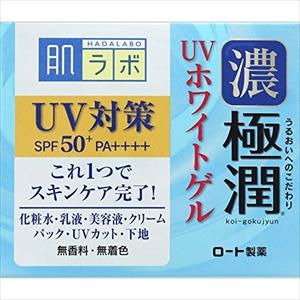 ≪ロート製薬≫ 肌ラボ 極潤 大人気 UVホワイトゲル 90g SPF50+ PA++++ 人気