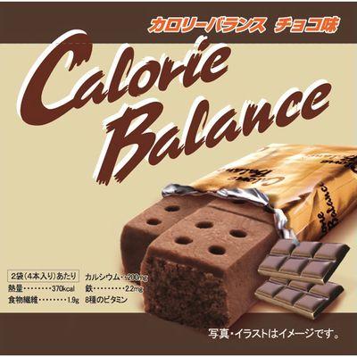 ヘテパシフィック カロリーバランス 店舗 チョコ 他商品同梱不可 毎日続々入荷 4本入 90個セット