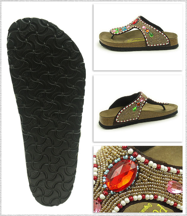 勃肯勃肯女性 Papillio 喀拉拉邦涼鞋 papirio 喀拉拉寶石 (399921)
