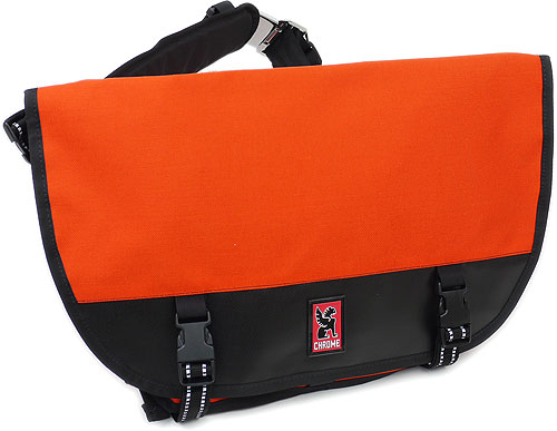 Chrome Bags Mini Metro Messenger Bag Orange Black 101orb001 Fs3gm