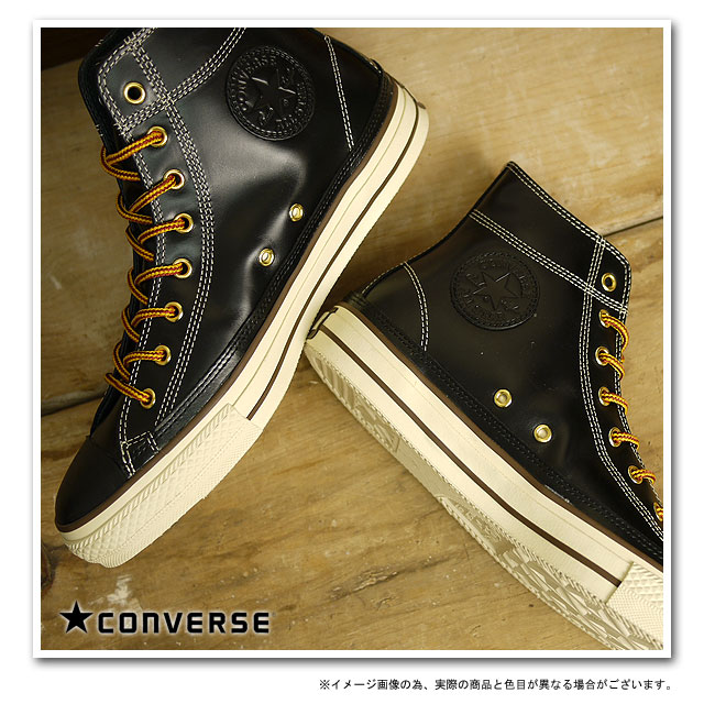 0f502d592ff0 CONVERSE Converse sneakers LEATHER ALL STAR OILED HI leather all star oiled  Hi black ( 32047401 SS12 ) fs3gm