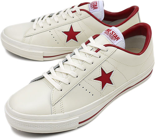 954631a7396b CONVERSE Converse sneakers ONE STAR OX one star OX WHITE RED (32340070)