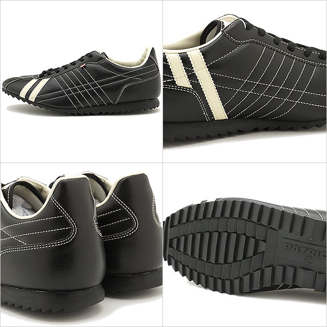 [Made in Japan] Patrick casual sneakers SULLY black