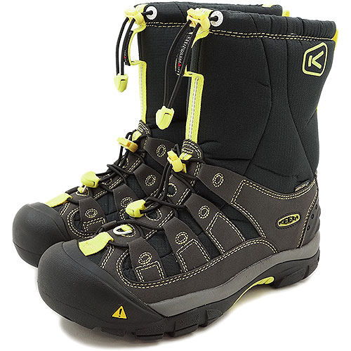 2730c969646 2 KEEN Kean WMNS Winterport II SMU snow boot winter port women Black Neon  (1008924 FW13)