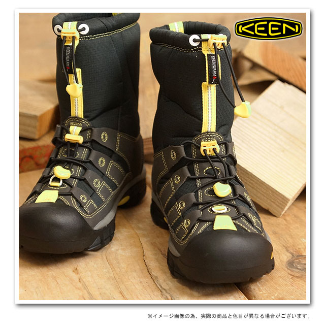 KEEN基恩WMNS Winterport II SMU雪地靴冬天端口2婦女的Black Neon(1008924 FW13)fs3gm