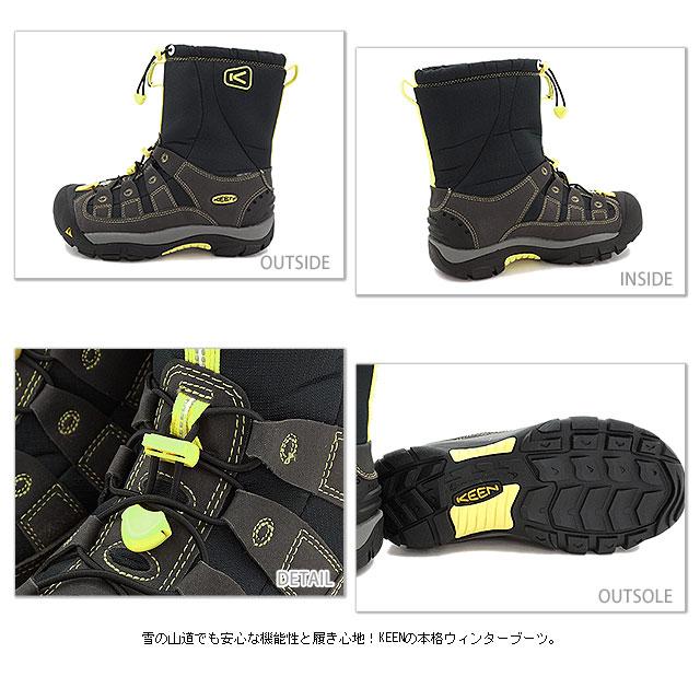 热衷于热衷于 WMNS 温特波特 II SMU 靴冬季端口 2 女式黑色霓虹灯 1008924 FW13)