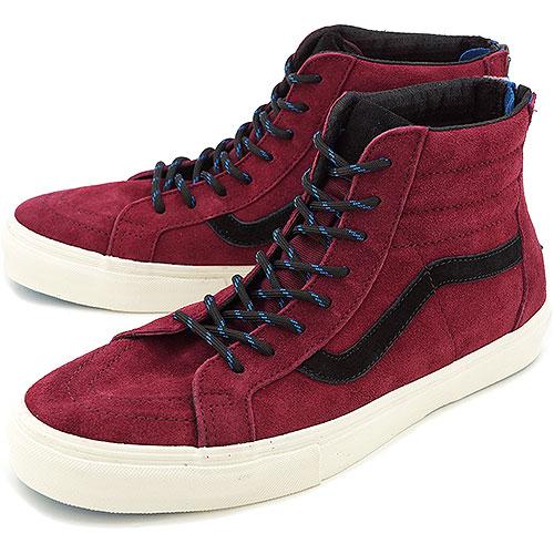 313e5977fe0cb3 VANS vans sneakers VALUT SK8-HI ZIP LX skating high zip LX (SUEDE) PORT  ROYAL (VN-0OZJ75R FW13)