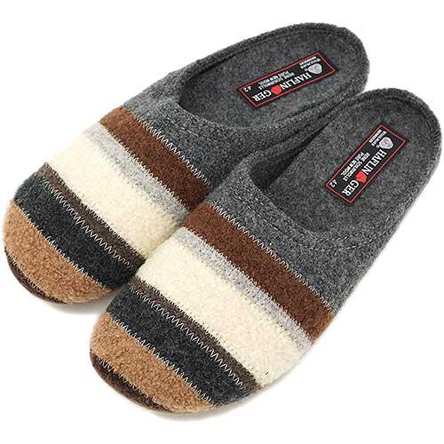 842a2265a4d HAFLINGER Haflinger clog sandals Prisma プリズマ anthrazit (gray   brown)  (HL48100402 FW13)