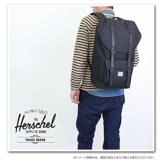new high new list fast delivery Herschel Supply Hershel supply bag Little America Little America backpack  (rucksack day pack) Black-Rubber (10014-00155-OS HO13) fs3gm