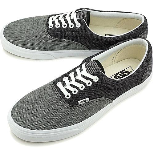 8ce70f3e76 □□VANS vans sneakers CLASSICS ERA classical music gills (SUITING MIX) BLACK TRUE  WHITE (VN-0W3CDN9 FW14)