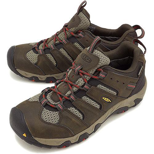 1a571b4ed9 KEEN Kean men trekking shoes Koven Low WP MNS Koven low waterproof Black- Olive/ ...