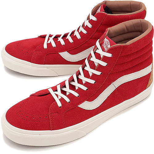 b58e988a4b VANS vans sneakers CALIFORNIA SK8-HI REISSUE CA カリフォルニアスケートハイスケハイ (FLORAL  SUEDE) TANGO RED (VN-0KXJDXE FW14)