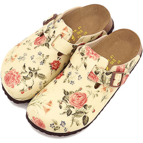 Papillio papilio BOSTON Lady's clog sandals Boston (ビルコフロー) BF Poetry (227493 FW14) BIRKENSTOCK ビルケンシュトック