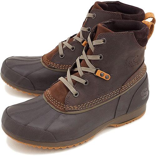 806d19ead02 SOREL Sorrel snow boot men ANKENY Ann Kenny TOBACCO/ELK shoes (NM2101-256  FW14)