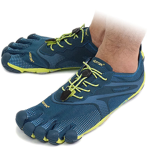 mischief  Five Vibram FiveFingers vibram five fingers men BIKILA EVO Deep  Pond Lime Blue vibram five fingers finger shoes raise of wages feet  (14M3101) ... b127d64c5