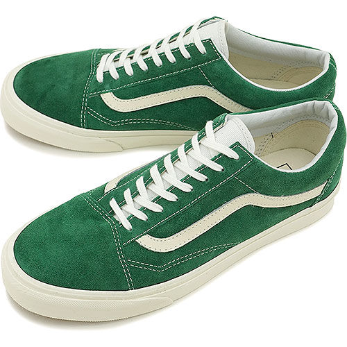 VANS vans sneakers CLASSICS OLD SKOOL classical music old school (VINTAGE) EVERGREEN (VN 0VOKDO5 FW14)