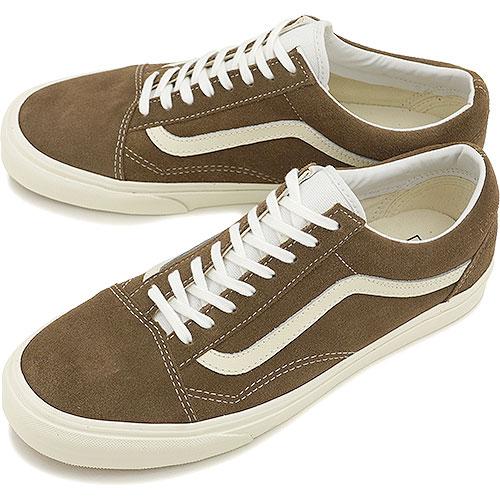442bdc1119d VANS vans sneakers CLASSICS OLD SKOOL classical music old school (VINTAGE)  SHITAKE (VN-0VOKDO8 FW14)