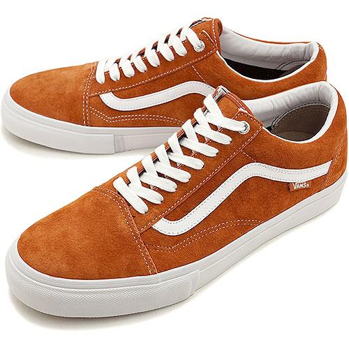 cb7e4e371a VANS vans sneakers men gap Dis PRO OLD SKOOL PRO old school pro DARK ORANGE  (VN-0ZD4F2V FW14)
