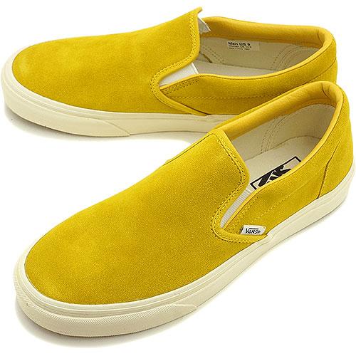 7d6504b336 VANS vans sneakers men gap Dis CLASSICS CLASSIC SLIP-ON classical music  classical music slip-on (VINTAGE SUEDE) SULPHUR (VN-0XG8F1I FW14)