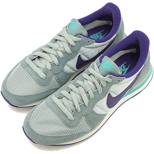 best sneakers e3268 5ad46 NIKE Nike Lady s sneakers WMNS INTERNATIONALIST women internationalist The Aviator  gray   coat purple   silver wing   hyper Jade (629,684-008 HO14)