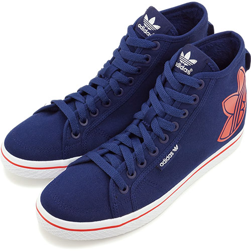 site réputé aad37 d401c adidas HONEY BIG LOGO AC Navy/Red (B26896)