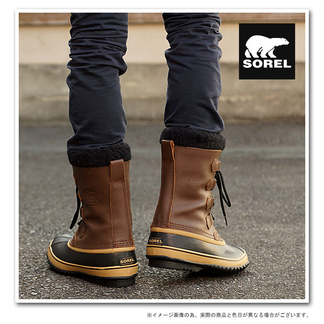 2bbb27ca1bf SOREL Sorel boots boots men's 1964 PAC T 1964 Pack T BROWN ( NM1439-200  FW14 )