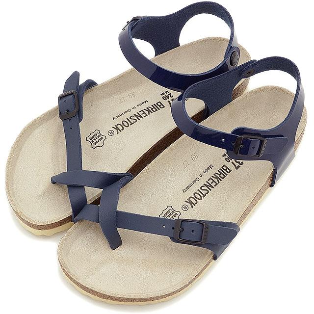 6889a6cb7e3 mischief  BIRKENSTOCK ビルケンシュトックレディースメンズ TAORMINA sandals towel Mina BF  Navy Patent Navy (310401 SS15)