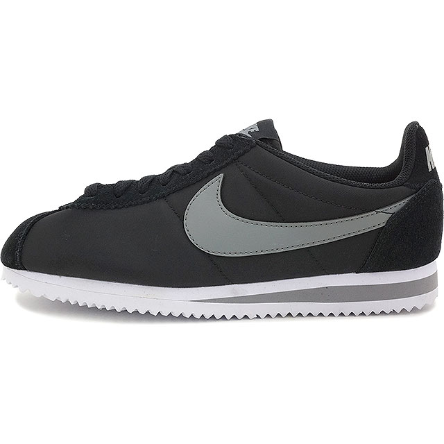new arrival 53dd6 87065 NIKE Nike Lady's sneakers shoes WMNS CLASSIC CORTEZ 15 NYLON  ウィメンズクラシックコルテッツ 15 nylon black / cool gray / white (457,226-007 FW15)